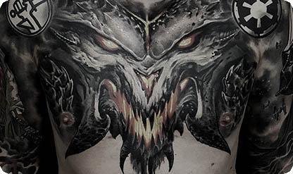 Татуировка Диабло