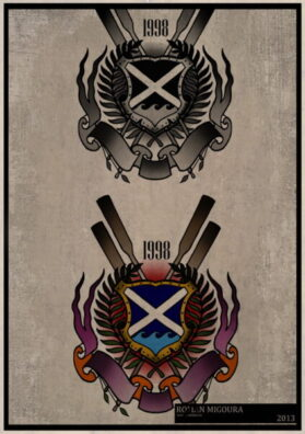Тату эскиз герб