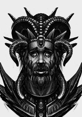 Эскиз тату хозяин зверей