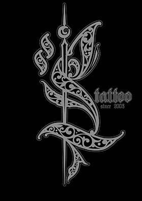 Эскиз тату логотип