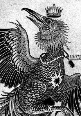 Птица и корона