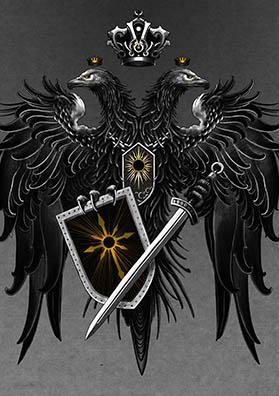 Тату эскиз герб России