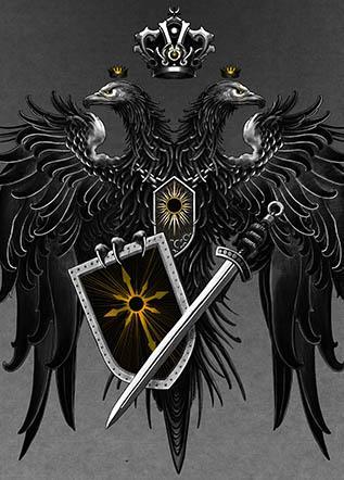Эскиз тату герб