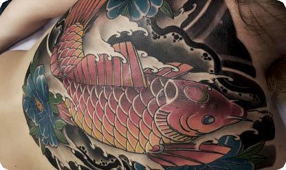 татуировка кои