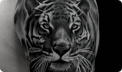 татуировка животные