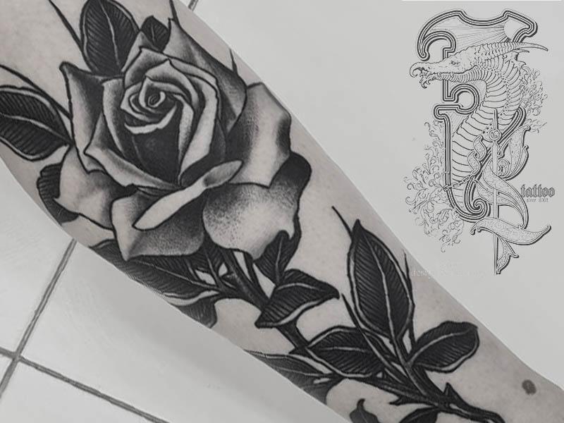 Татуировки цветов