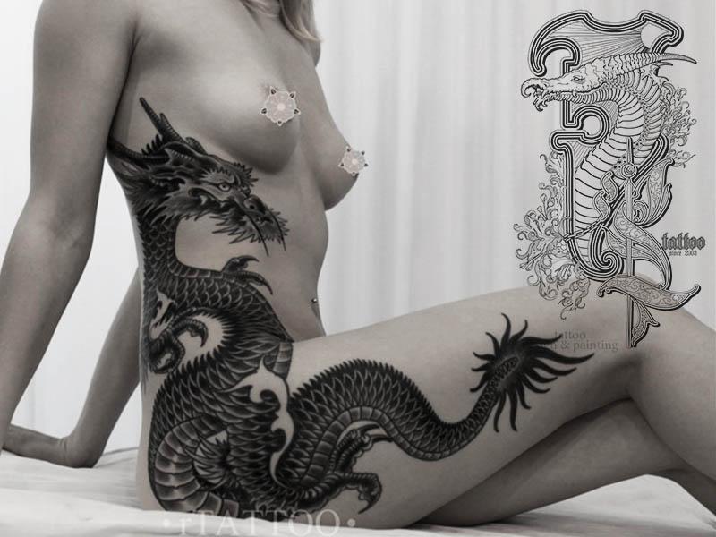 Женская татуировка