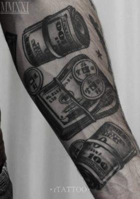 Тату деньги