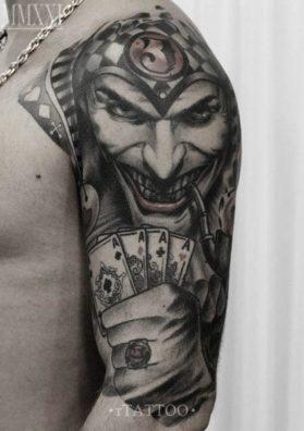 Татуировка Джокер 2