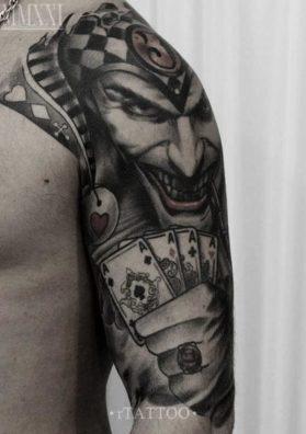 Татуировка Джокер 3