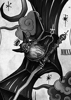 Эскиз тату летучая мышь