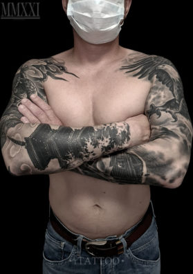 Татуировка на руках