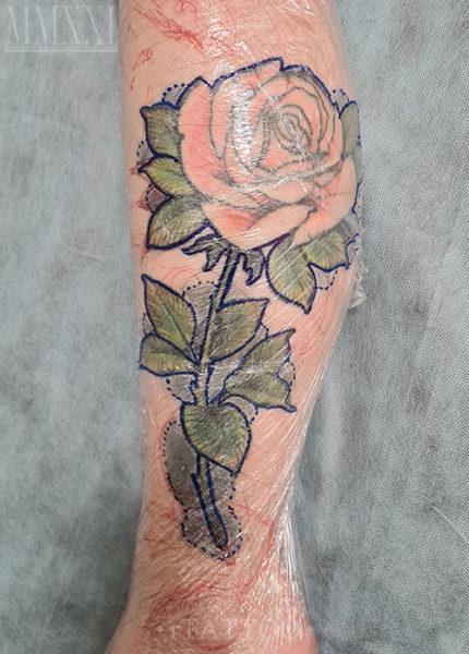 Старая татуировка